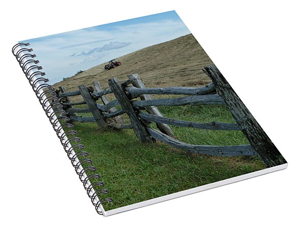Mowing The Hay Spiral Notebook