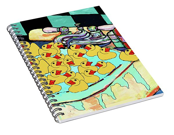 My Sink Runneth Over Spiral Notebook