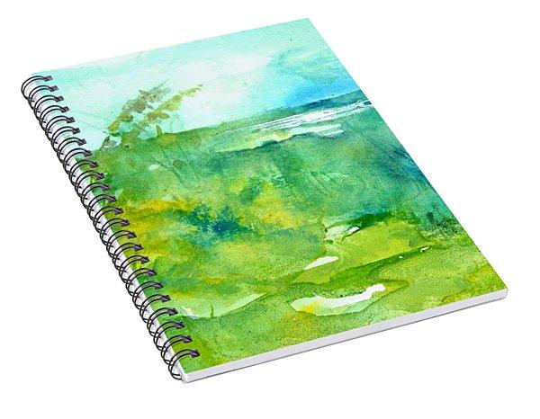 Ocean And Shore Spiral Notebook
