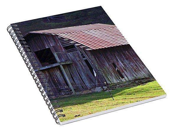 Old Barn In Etowah Spiral Notebook
