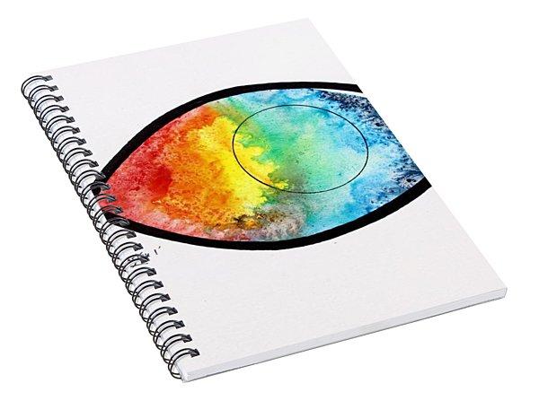 Peces De Oracion 1 Spiral Notebook