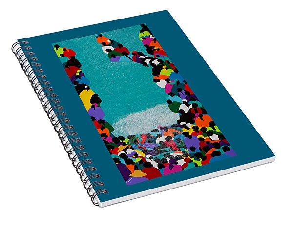 Pilgrimage Saut D'eau Spiral Notebook