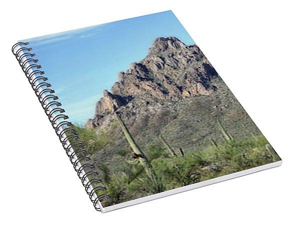 Ragged Top Mountain Panorama Spiral Notebook