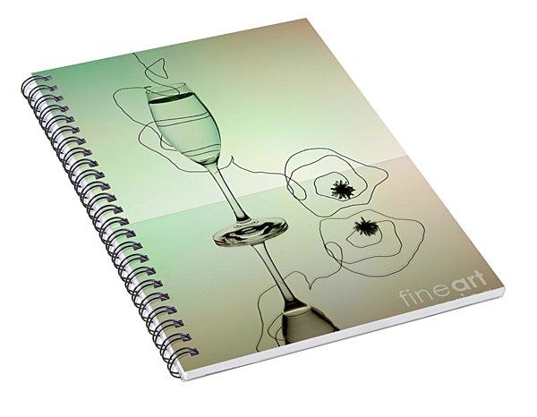 Reflection 02 Spiral Notebook
