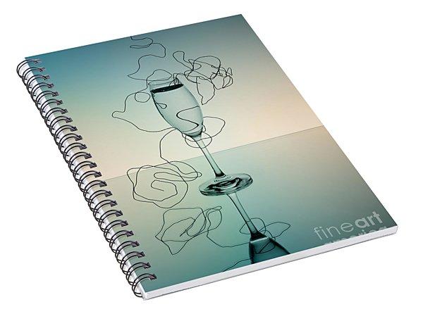 Reflection 03 Spiral Notebook