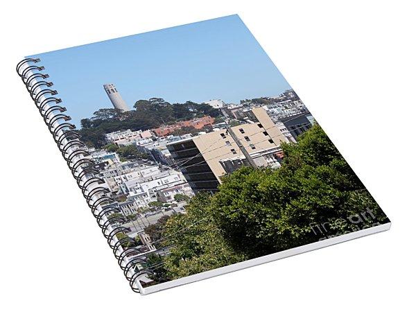 San Francisco Coit Tower Spiral Notebook