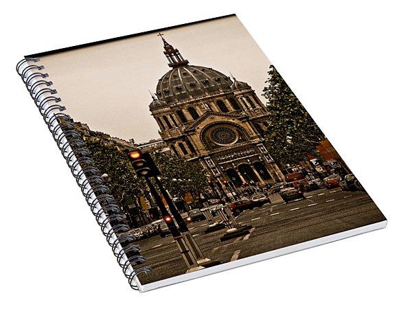 Paris, France - St. Etienne Spiral Notebook