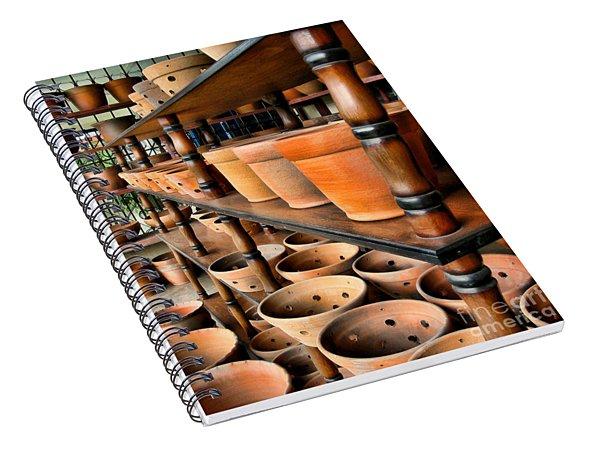 Terracotta Ranks Spiral Notebook