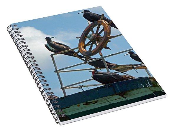 The Frigate Crew Spiral Notebook