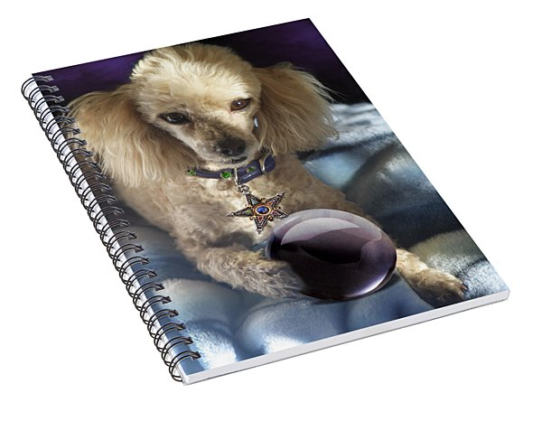 The Wizard Of Dogs Spiral Notebook