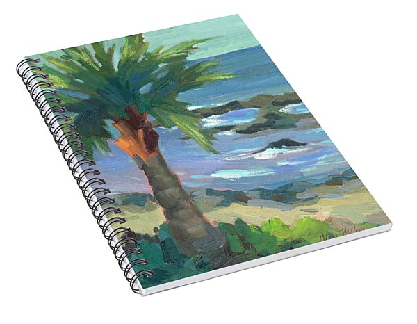 Turquoise Water Spiral Notebook