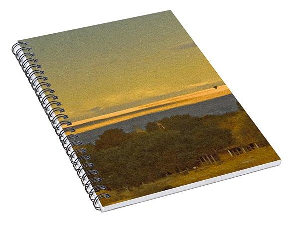 Albuquerque, New Mexico - West Mesa Landscape Spiral Notebook