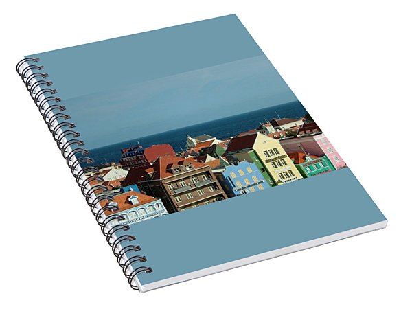 Williemstad Curacoa Spiral Notebook
