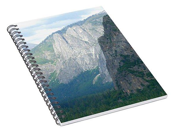 Yosemite Bridalveil Fall Spiral Notebook