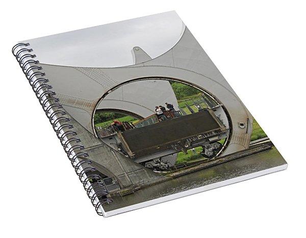 Falkirk Wheel Spiral Notebook