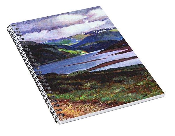 Lakeshore Road Scotland Spiral Notebook