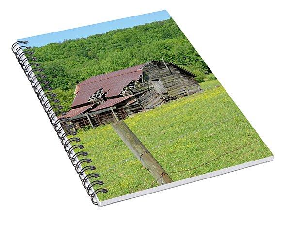 Old Goshen Barn Spiral Notebook
