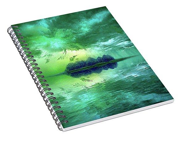 At Worlds End Spiral Notebook
