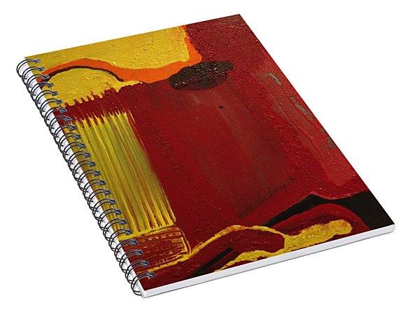 Christ's Profile Spiral Notebook