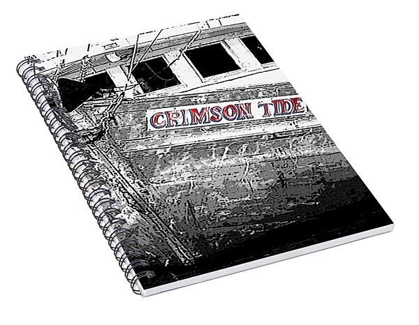 Crimson Tide Spiral Notebook