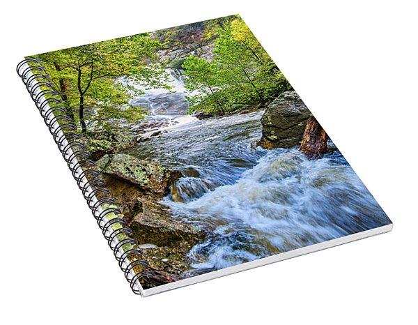 Cullasaja Falls Spiral Notebook