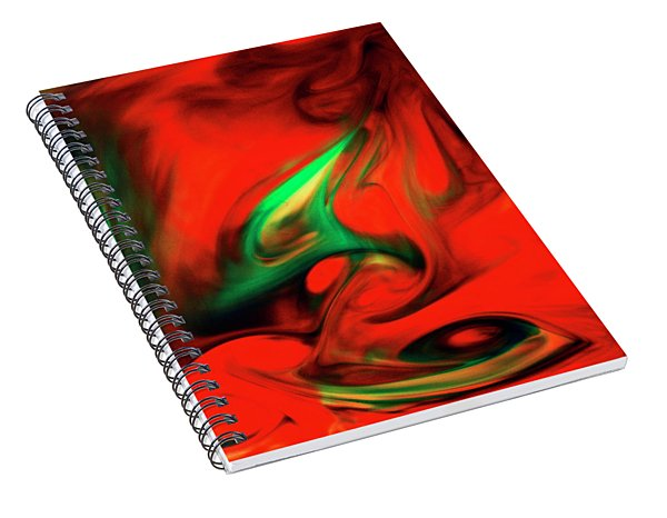 Envy Feeding On Itself Spiral Notebook