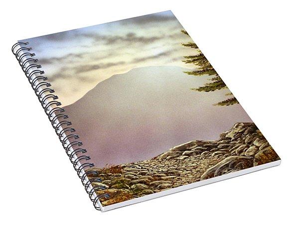 Evening Trail Spiral Notebook
