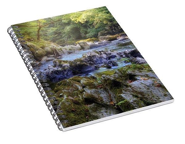 Fairy Glen - Wales Spiral Notebook