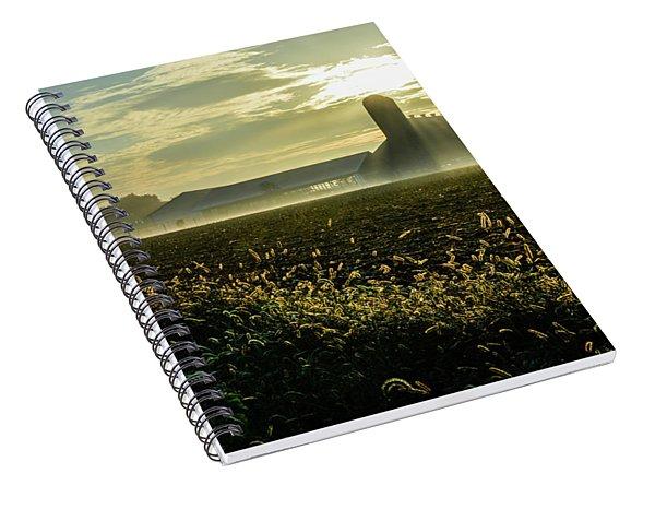 Farm Sunrise #1 Spiral Notebook