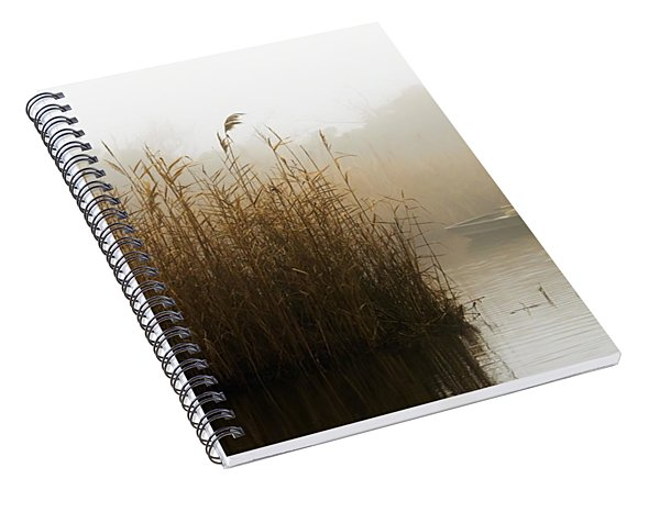 Foggy Fishing Spiral Notebook