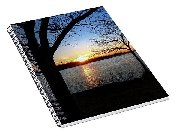 Ford Lake Sunset Spiral Notebook