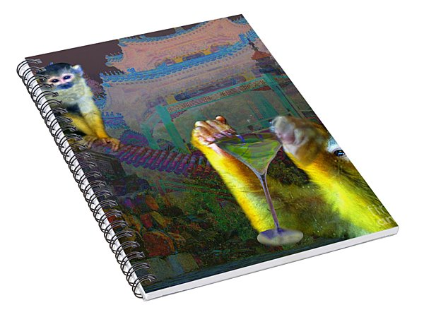 Happy Chinese New Year Spiral Notebook