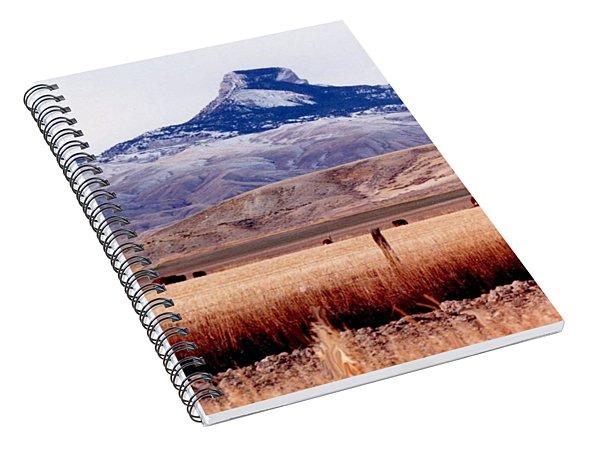 Heart Mountain - Cody,  Wyoming Spiral Notebook