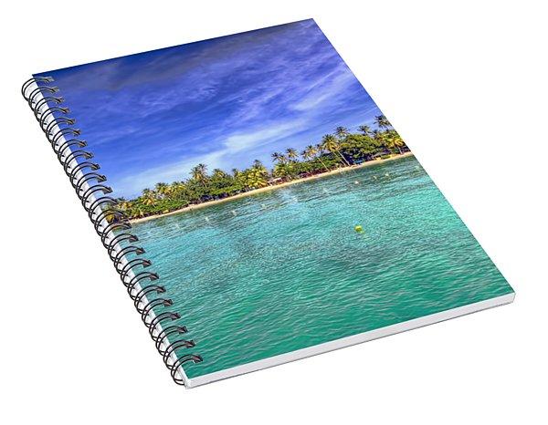 Island In The Sun Spiral Notebook