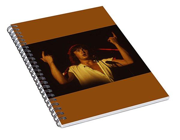 Joe Elliott Of Def Leppard Spiral Notebook