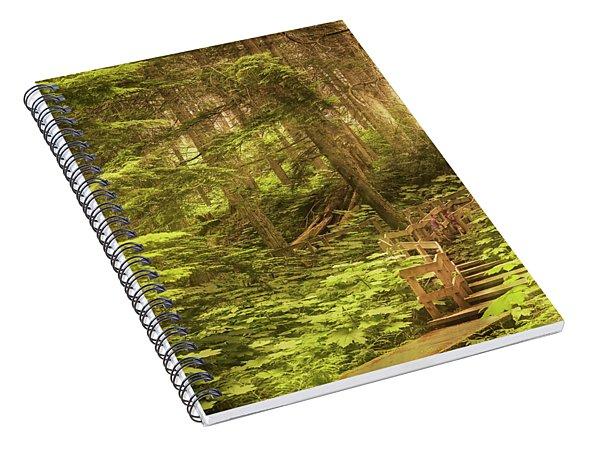Lothlorien  Spiral Notebook