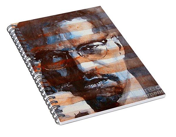 Malcolmx Spiral Notebook