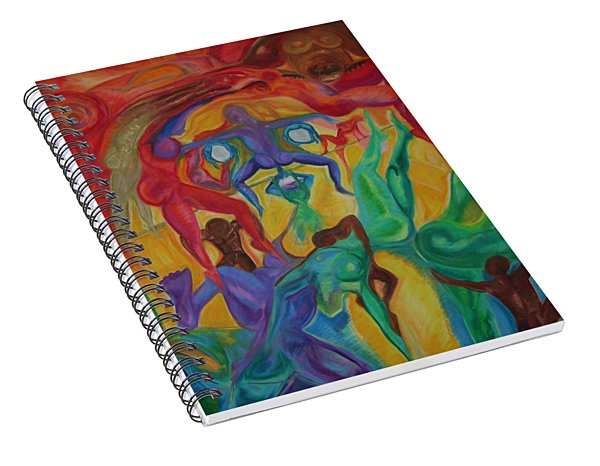 Mann I The Middle Spiral Notebook