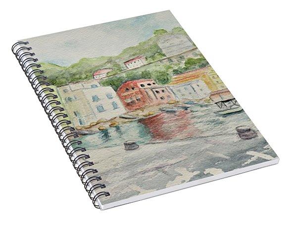 Marina Grande, Sorrento Spiral Notebook