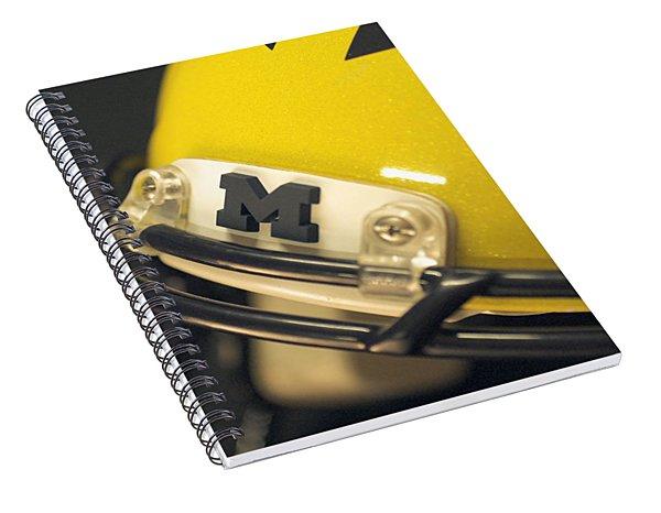 Michigan M Spiral Notebook
