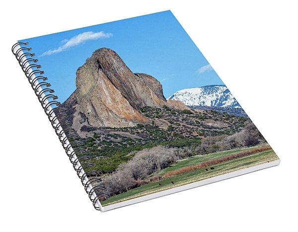 Needle Rock Spiral Notebook