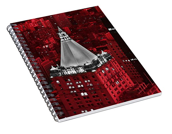 New York Life Building Spiral Notebook