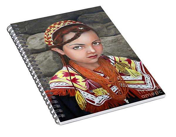 Pakistani Girl Spiral Notebook