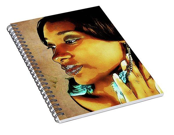 Pensive Spiral Notebook