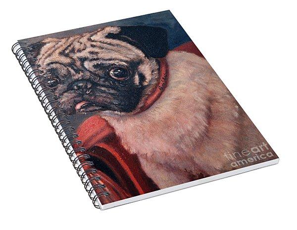 Pugsy Spiral Notebook