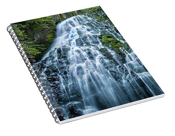 Ramona Falls Cascade Spiral Notebook