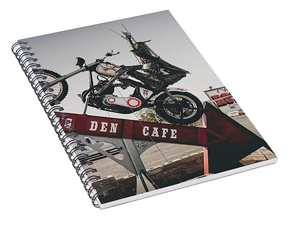 Rosies Den Cafe Spiral Notebook