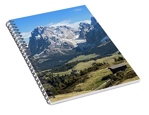 Sasso Lungo And Sasso Piatto Spiral Notebook