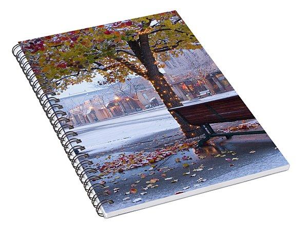 Sherman Snow Spiral Notebook