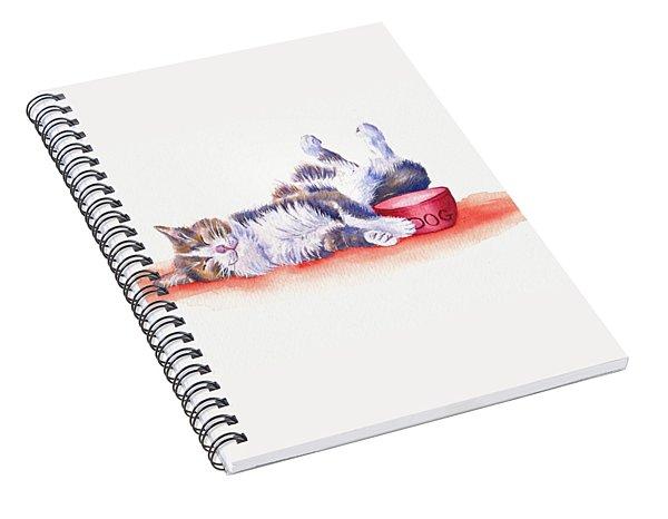 Stolen Lunch Spiral Notebook